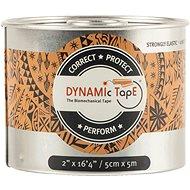 DynamicTape Beige Black 5 cm - Tejp