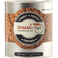 DynamicTape Beige Black 7,5 cm - Tejp