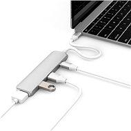 Hyper USB-C hub so 4K HDMI strieborný - USB Hub