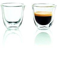 De'Longhi Sada pohárov 2 ks Espresso poháre - Sada pohárov