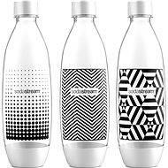 SodaStream 1 liter bottle Tripack Fuse Black & White - Replacement Bottle