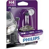 PHILIPS H4 VisionPlus, 60/55W, pätice P43t-38 - Autožiarovka