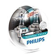 PHILIPS H4 X-tremeVision, 60/55 W, základňa P43t-38, 2 ks