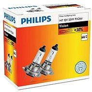 PHILIPS H7 Vision, 55 W, základňa PX26d, 2 ks - Autožiarovka