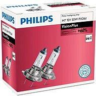 PHILIPS H7 VisionPlus, 55 W, pätica PX26d, 2 ks - Autožiarovka