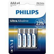 Philips LR03E4B 4 ks v balení - Jednorazová batéria