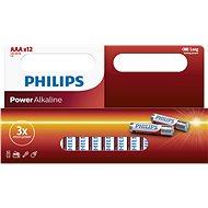 Philips LR03P12W 12 ks v balení - Jednorázová batéria
