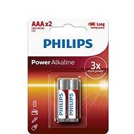Philips LR03P2B 2 ks v balení - Batéria