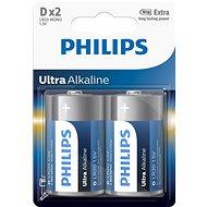 Philips LR20E2B 2 ks v balení - Batéria