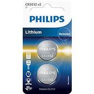 Philips CR2032P2 2ks v balení - Gombíkové batérie