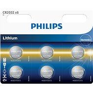 Philips CR2032P6 6 ks v balení - Batéria