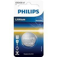 Philips CR2430 1 ks v balení - Gombíkové batérie