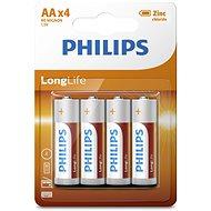 Philips R6L4B 4 ks v balení - Batéria