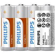 Philips R6L4F 4 ks v balení - Jednorazová batéria