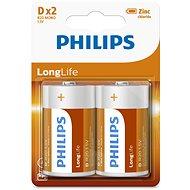 Philips R20L2B 2 ks v balení - Jednorazová batéria