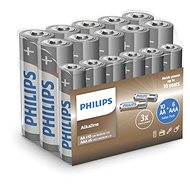 Batéria Philips LR036A16F/10, 10 + 6 ks v balení - Baterie
