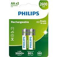 Philips R6B2A260 2 ks v balení - Nabíjateľná batéria