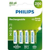 Philips R6B4RTU25 4 ks v balení - Nabíjacia batéria