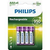 Nabíjateľná batéria Philips R03B4A95 4 ks v balení - Nabíjecí baterie