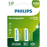 Philips R14B2A300 2 ks v balení - Nabíjacia batéria