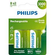 Philips R20B2A300 2 ks v balení - Nabíjacia batéria