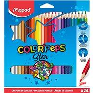 MAPED Color Peps 24 barev trojhranné - Pastelky