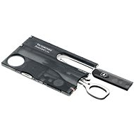 VICTORINOX Swiss Card Lite Translucent čierny - Multitool