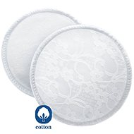 Bavlnené absorpčné vložky Philips AVENT - pracuje - Prsné vložky