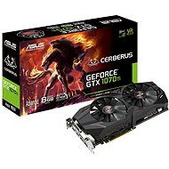 ASUS CERBERUS GeForce GTX 1070Ti Advanced Edition 8 GB - Grafická karta