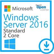 WinSvrSTDCore 2016 SNGL OLP 2Lic NL CoreLic - Operačný systém