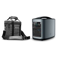 EcoFlow RIVER370 Portable Power Station Black + Element Proof Protective Case - Nabíjacia stanica