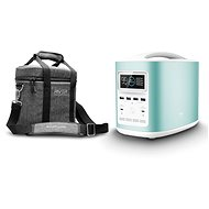 EcoFlow RIVER370 Portable Power Station Blue + Element Proof Protective Case - Nabíjacia stanica