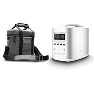 EcoFlow RIVER370 Portable Power Station Silver + Element Proof Protective Case - Nabíjacia stanica