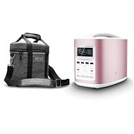 EcoFlow RIVER370 Portable Power Station Pink + Element Proof Protective Case - Nabíjacia stanica
