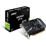 MSI GeForce GTX 1050 Ti AERO ITX 4G OCV1 - Grafická karta