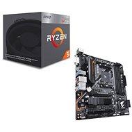 Akčný balíček  GIGABYTE B450 AORUS M + CPU AMD RYZEN 5 2400G