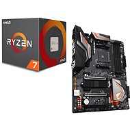 Akčný balíček  GIGABYTE AORUS X470 Ultra Gaming + CPU AMD RYZEN 7 2700X - Set