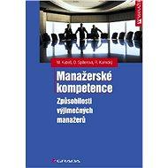 Manažerské kompetence - Elektronická kniha