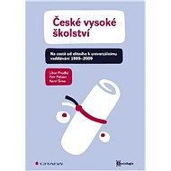 České vysoké školství - Elektronická kniha