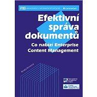Efektivní správa dokumentů - Elektronická kniha