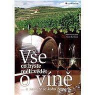 Vše, co byste měli vědět o víně.... - Elektronická kniha