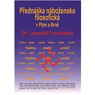 Přednáška nábožensko-filosofická v Plzni a Brně - Elektronická kniha
