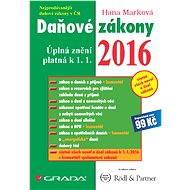 Daňové zákony 2016 - Elektronická kniha