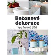 Betonové dekorace - Elektronická kniha