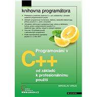Programování v C++ - Elektronická kniha