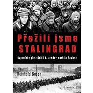 Přežili jsme Stalingrad - Elektronická kniha - Vzpomínky příslušníků 6. armády maršála Pauluse. Tragický obraz děsivých událostí u Stalingradu. -  Reinhold Busch