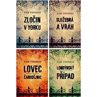 4 historické krimi romány Sama Thomase za výhodnou cenu - Elektronická kniha