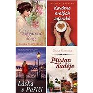 4 romány pro ženy za výhodnou cenu - Laura Madeleine, Nicolas Barreau