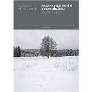 Krajina mezi pamětí a zapomínáním - Karolína Pauknerová, 210 stran