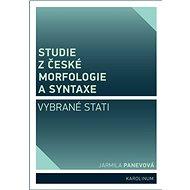 Studie z české morfologie a syntaxe - Jarmila Panevová, 220 stran
